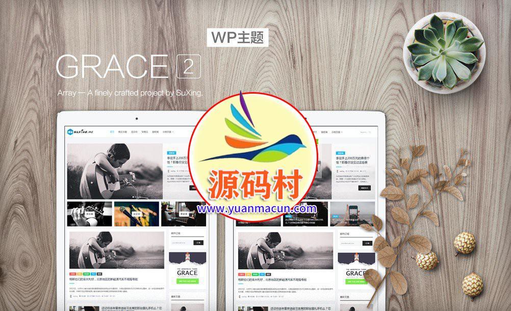 价值399的WordPress苏醒主题Grace2 wordpress主题下载 wp模板Grace2